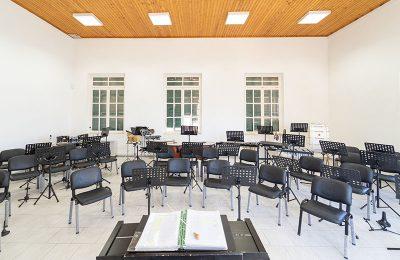 Δημοτική Φιλαρμονική Ορχήστρα Πύλου-Νέστορος - Φωτογραφίες - Αίθουσα διδασκαλίας